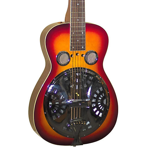 Regal RD-40 Resonator Cherry Sunburst Square Neck