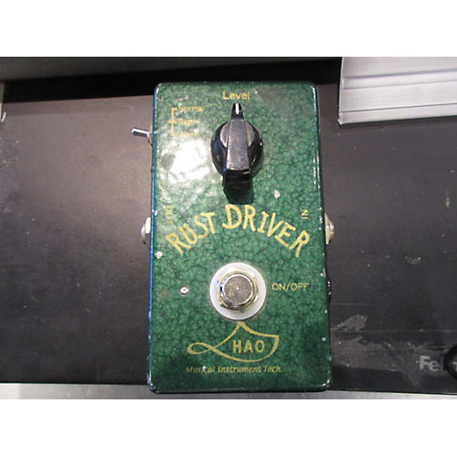 Hao RD1 Rust Driver Distortion Effect Pedal-thumbnail