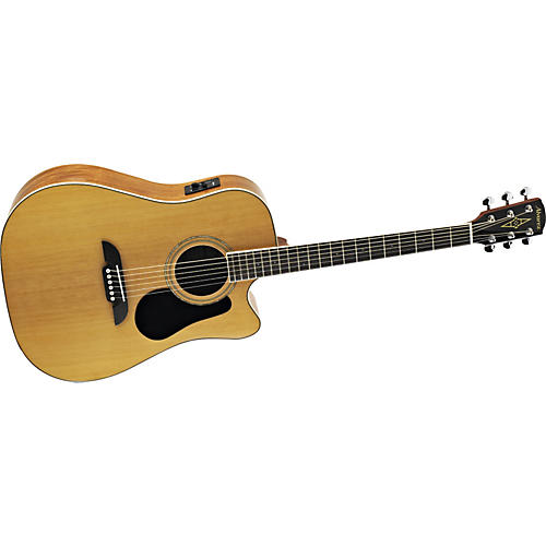 Alvarez RD16CE Regent Series Dreadnought Acoustic-Electric Cutaway Guitar Natural Dreadnought