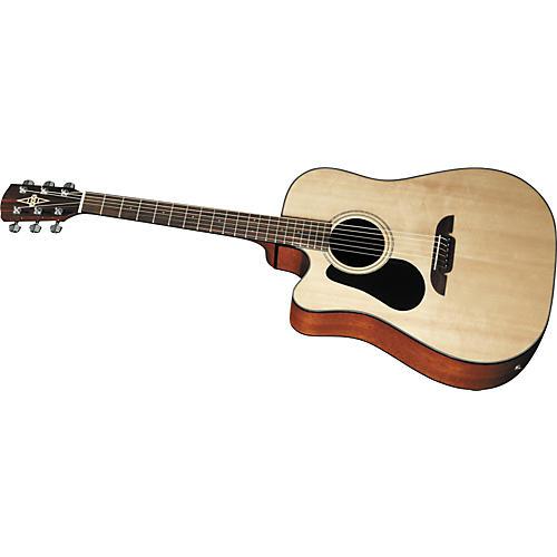 Alvarez RD20SCL Left-Handed Dreadnought Acoustic-Electric Guitar