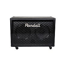 Randall RD212-V30 Diavlo 2X12 Angled Guitar Cab Level 1 Black