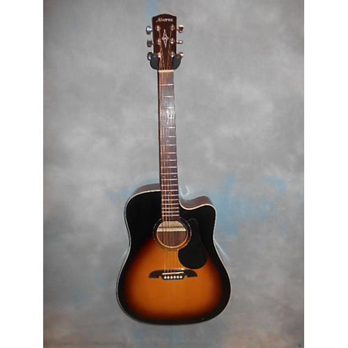 Alvarez RD260CE Dreadnought Acoustic Electric Guitar-thumbnail