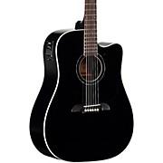 Alvarez RD260CEBK Dreadnought Acoustic-Electric Guitar