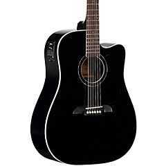 RD260CEBK Dreadnought Acoustic-Electric Guitar Black