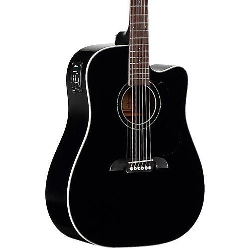 Alvarez RD260CEBK Dreadnought Acoustic-Electric Guitar Black