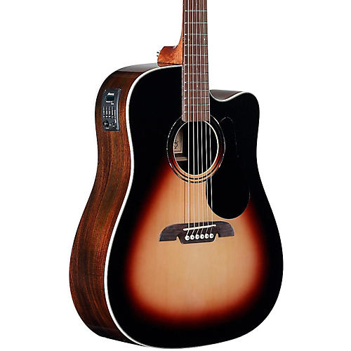 Alvarez RD270CESB Dreadnought Acoustic-Electric Guitar-thumbnail