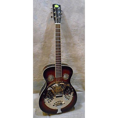 Regal RD40 ROUND NECK Acoustic Guitar Vintage Sunburst