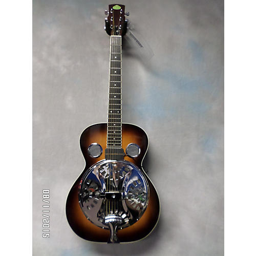Regal RD40 Round Neck Resonator Guitar