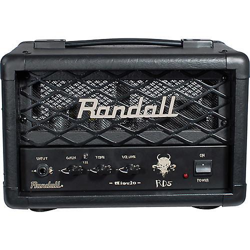 Randall RD5H Diavlo 5W Tube Guitar Head Black