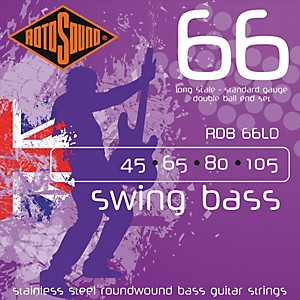 Rotosound RDB66LD Double Ball End Bass Strings by Rotosound