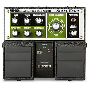 Boss RE-20 Space Echo Delay / Reverb Pedal by Boss