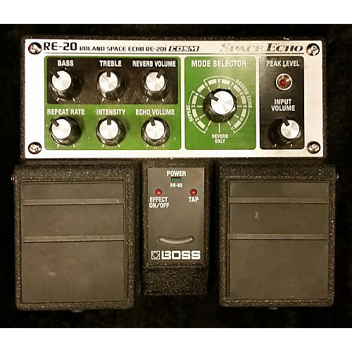 Boss RE20 Space Echo Effect Pedal