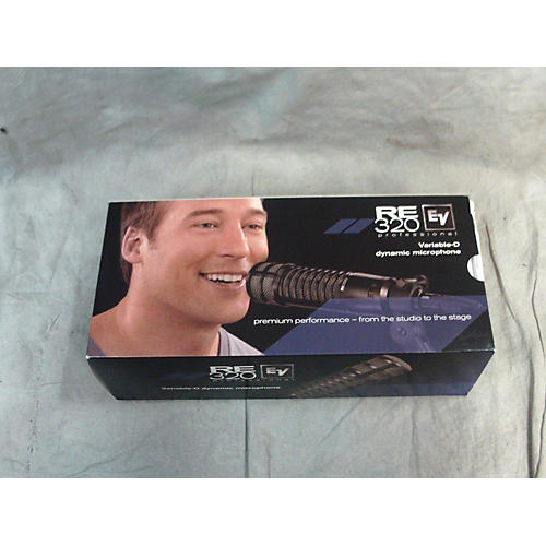 Electro-Voice RE320 Dynamic Microphone