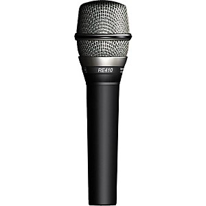 Electro-Voice RE410 Handheld Condenser Cardioid Vocal Microphone by Electro Voice