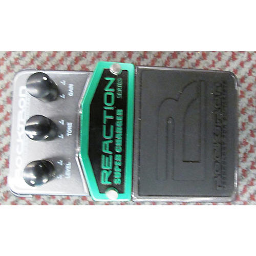 Rocktron REACTION SUPER CHARGER OVERDRIVE Effect Pedal-thumbnail