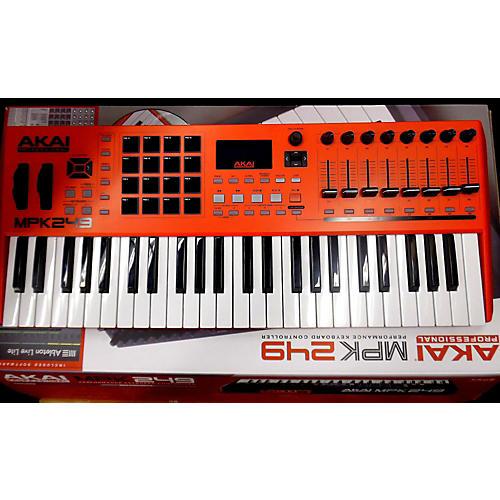 Akai Professional RED MPK249 49 Key MIDI Controller