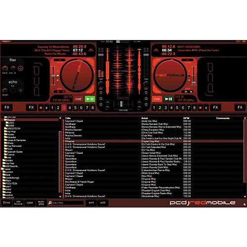 PCDJ RED Mobile DJ Software-thumbnail