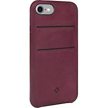Twelve South RELAXED LEATHER POCKETS MARSALA BURNISHED CASE IP 7 W/POCKETS