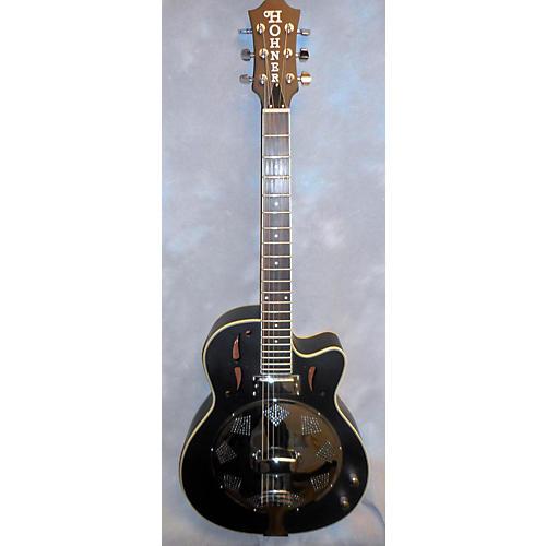 Hofner RESONATOR Acoustic Electric Guitar-thumbnail