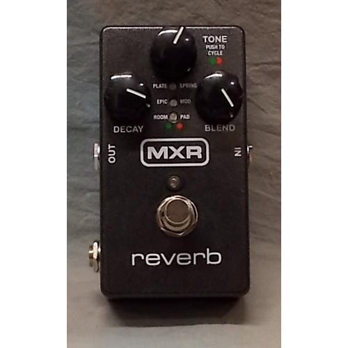 used mxr reverb effect pedal guitar center. Black Bedroom Furniture Sets. Home Design Ideas