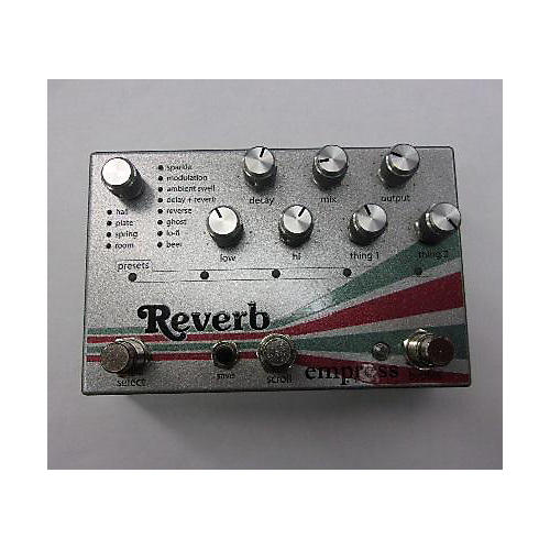 Empress Effects REverb Effect Pedal-thumbnail