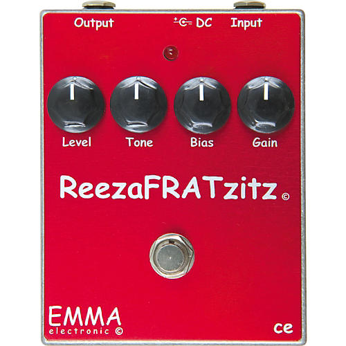 Emma Electronic RF-1 ReezaFRATzitz Distortion Guitar Effects Pedal