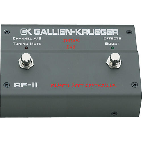 Gallien-Krueger RF-II Footswitch