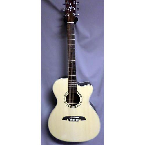 Alvarez RF27CE OM/Folk Acoustic Electric Guitar-thumbnail
