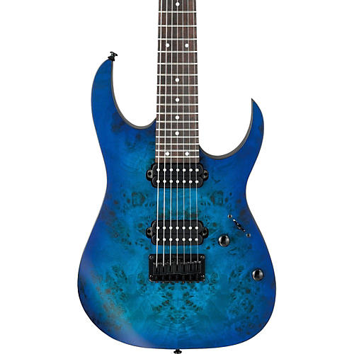 Ibanez RG Series RG7421PB 7-String Electric Guitar Flat Sapphire Blue