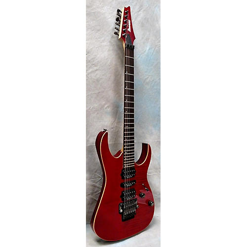 Ibanez RG2770FZ Solid Body Electric Guitar Trans Red