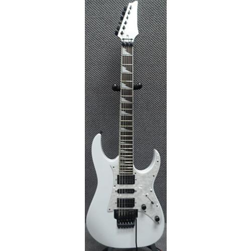 Ibanez RG350DX RG Series Alpine White Solid Body Electric Guitar-thumbnail