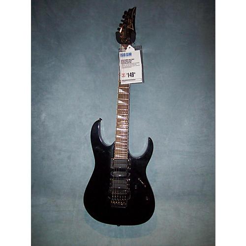 Ibanez RG370DX Black Solid Body Electric Guitar-thumbnail