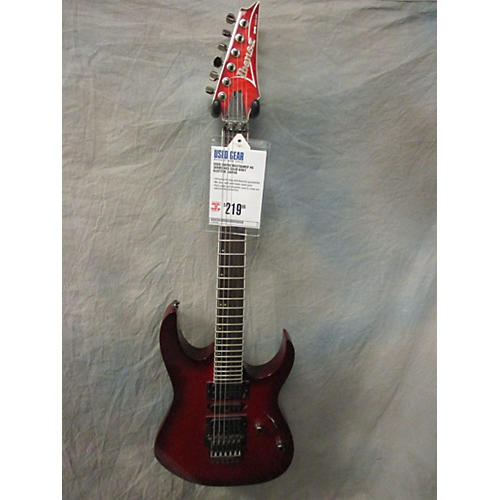 Ibanez RG370QMSP RG Series Solid Body Electric Guitar Red