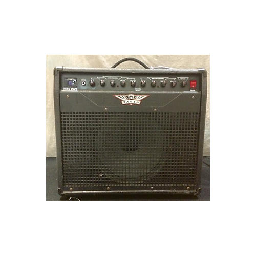Raven RG60 60W 1X12 Black Guitar Combo Amp-thumbnail