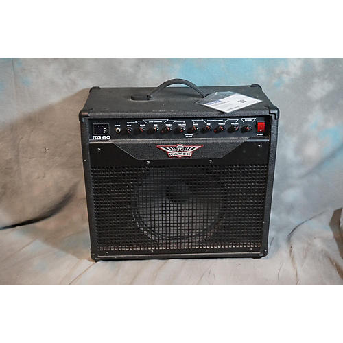 Raven RG60 60W 1X12 Black Guitar Combo Amp