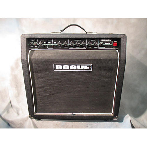 used rogue rg65r solid state guitar amp head guitar center. Black Bedroom Furniture Sets. Home Design Ideas