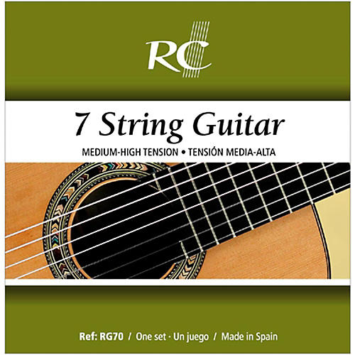 RC Strings RG70 Nylon Guitar 7-String Set