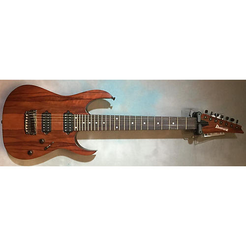 Ibanez RG752LWFX Prestige Natural Solid Body Electric Guitar