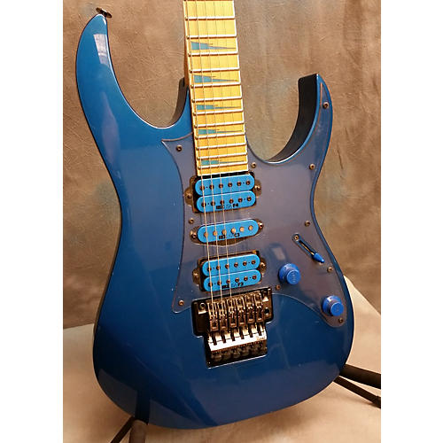 Ibanez RG770 Blue Solid Body Electric Guitar-thumbnail