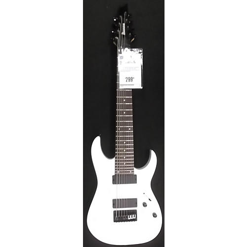 Ibanez RG8 8 String White Solid Body Electric Guitar