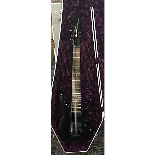 Ibanez RGA8BK RGA Series 8 String Solid Body Electric Guitar