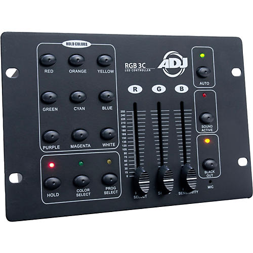 American DJ RGB 3C DMX LED Lighting Controller-thumbnail