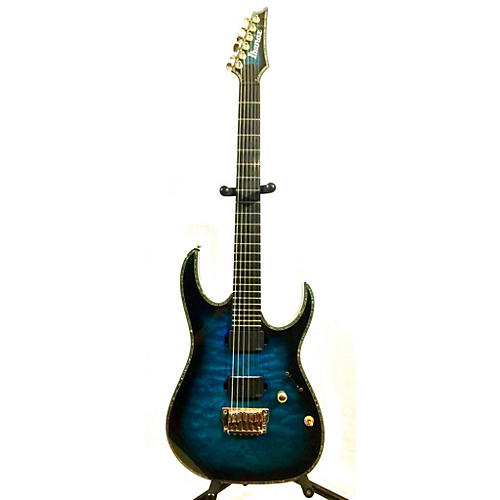 Ibanez RGIX20FEQM Iron Label RG Series Solid Body Electric Guitar-thumbnail