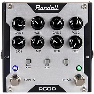 Randall RGOD Guitar Preamp Pedal by Randall