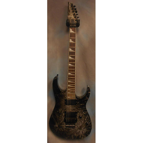 Ibanez RGR320EX Solid Body Electric Guitar Silver Arctic Frost