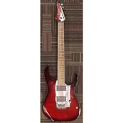 Ibanez RGR421EXFMBBS Solid Body Electric Guitar-thumbnail
