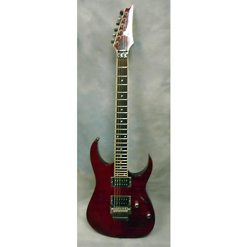 Ibanez RGT42FM Solid Body Electric Guitar Crimson Red Trans