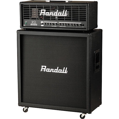 Randall RH150DG3 and RS125CX Half Stack
