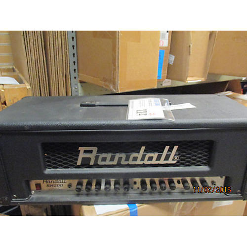 Randall RH200 Solid State Guitar Amp Head