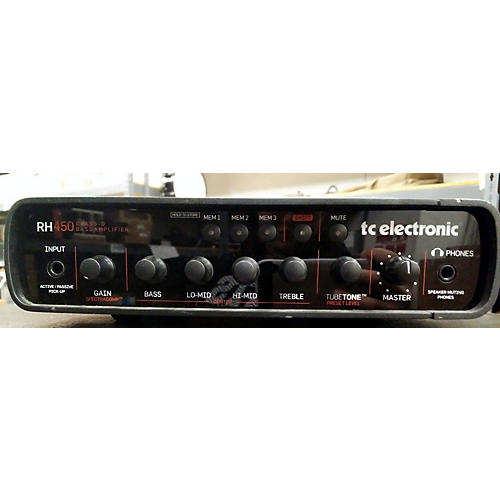 TC Electronic RH450 450W Bass Amp Head-thumbnail